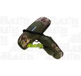 Une housse souple de la marque Excalibur, idéale pour le stockage et le transport d'une arbalète équipée d'une lunette