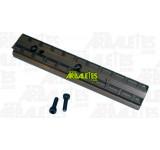 Un rail Picatinny/Weaver 22 mm pour monter une lunette sur les arbalètes Ten Point GT Flex et Stealth XLT