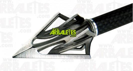 """Trois pointes de chasse Carbon Express """"F-15 Dual Blade"""" - 125 gr"""