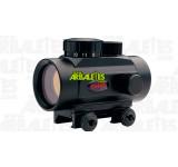 Un optique de visée point rouge Gamo BZ30 haut montable sur toute arme dotée d'un rail en queue d'aronde de 11 mm
