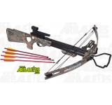 Arbaletes.com vous propose l'arbaléte à poulies (compound) SKORPION CROSSBOW XBC300.Décoré d'un camouflage Forest in Fall, la crossbow XBC 300 délivre une puissance de 185 livres, les flêches sont lancés à la vitesse de 320 FPS soit plus de 349 km/h !!!