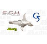 Lot de 3 Pointes de chasse G5 SGH tranchantes qui viennent se planter - 100gr