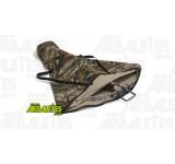 Housse souple verte et camouflage, prévue pour la protection et le transport d'une arbalète Excalibur