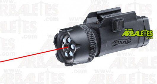 Walther Night Force - lampe + laser pour rail Picatinny